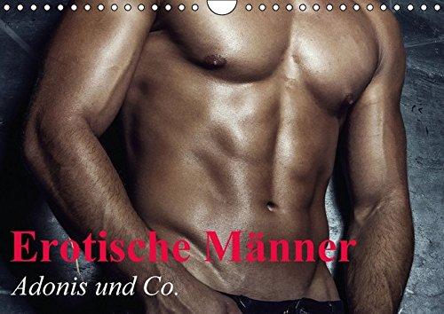 9783664456703: Erotische Männer - Adonis und Co. (Wandkalender 2016 DIN A4 quer): Stilvolle Männererotik und starke Muskeln für schöne Momente (Monatskalender, 14 Seiten)