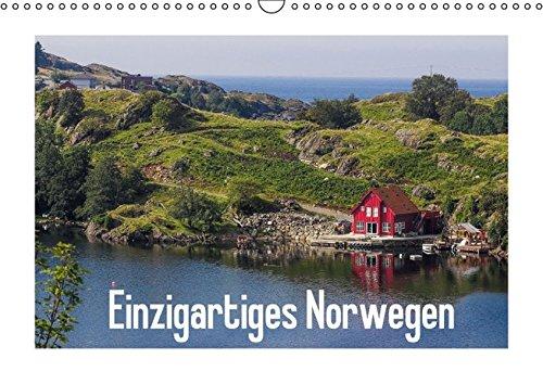 9783664457939: Einzigartiges Norwegen (Wandkalender 2016 DIN A3 quer): Traumhafte Bilder zeigen Norwegens einzigartige Schönheit (Monatskalender, 14 Seiten)