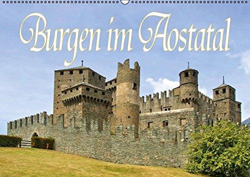 9783664465606: Burgen im Aostatal (Wandkalender 2016 DIN A2 quer): Das Tal der 100 Burgen (Monatskalender, 14 Seiten)
