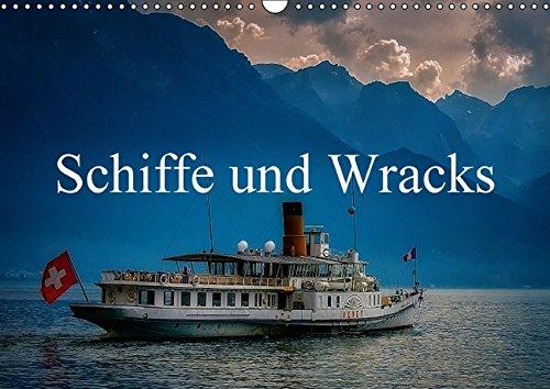 9783664467198: Schiffe und WracksCH-Version - Wandkalender 2016