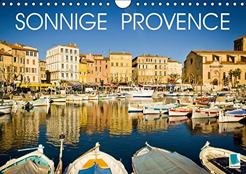 9783664467617: Sonnige Provence (Wandkalender 2016 DIN A4 quer)