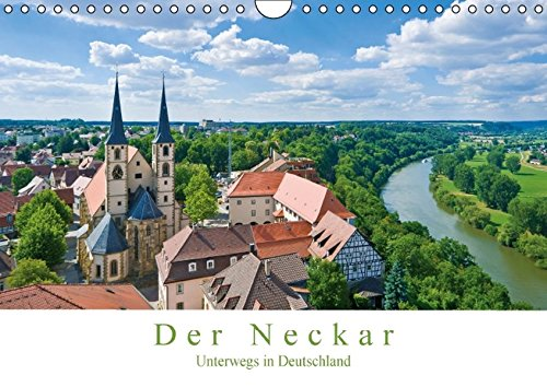 9783664471683: Der Neckar - Unterwegs in Deutschland (Wandkalender 2016 DIN A4 quer)