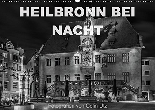 9783664477371: Heilbronn bei Nacht (Wandkalender 2016 DIN A2 quer): Der Wandkalender