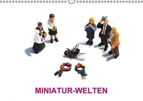 9783664490912: MINIATUR-WELTEN - Wandkalender 2016