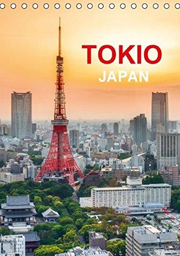 9783664497379: Tokio - Japan (Tischkalender 2016 DIN A5 hoch): Reisekalender über die japanische Hauptstadt (Monatskalender, 14 Seiten)