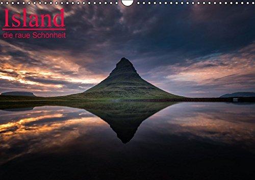 9783664520497: Island - die raue Schönheit (Wandkalender 2016 DIN A3 quer): Beeindruckende Island Impressionen. (Monatskalender, 14 Seiten)