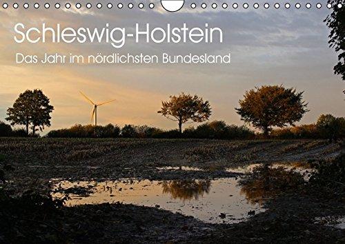 9783664521715: Schleswig-Holstein (Wandkalender 2016 DIN A4 quer): Schleswig-Holstein - das Jahr im nördlichsten Bundesland (Monatskalender, 14 Seiten)