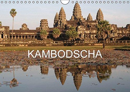 9783664530366: Kambodscha - Reiseimpressionen (Wandkalender 2016 DIN A4 quer): Bilder von einer Rundreise durch das K�nigreich Kambodscha (Monatskalender, 14 Seiten)
