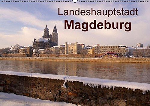 9783664531073: Landeshauptstadt Magdeburg (Wandkalender 2016 DIN A2 quer)