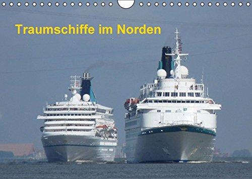 9783664531233: Traumschiffe im Norden (Wandkalender 2016 DIN A4 quer): Kreuzfahrtschiffe (Monatskalender, 14 Seiten)