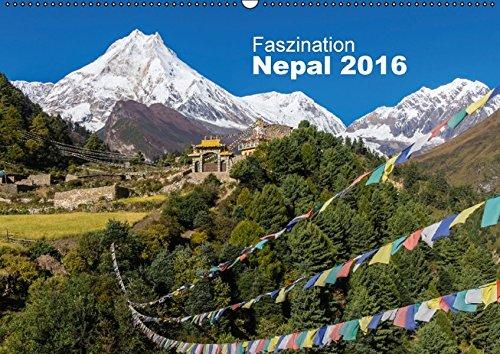 9783664532117: Faszination Nepal (Wandkalender 2016 DIN A2 quer): Der Reiz Nepals sind seine authentischen Menschen und die grandiose Natur, welche hier fotografisch eingefangen wurde. (Monatskalender, 14 Seiten)