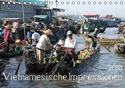 9783664533626: Vietnamesische Impressionen (Tischkalender 2016 DIN A5 quer)