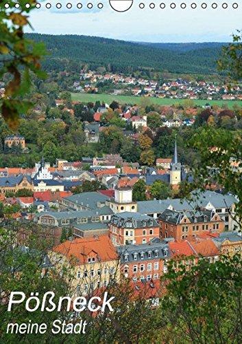 9783664534463: Pößneck - meine Stadt (Wandkalender 2016 DIN A4 hoch): Eine Kleinstadt im östlichen Thüringen mit viel Geschichte, Charme und Charakter. (Monatskalender, 14 Seiten)