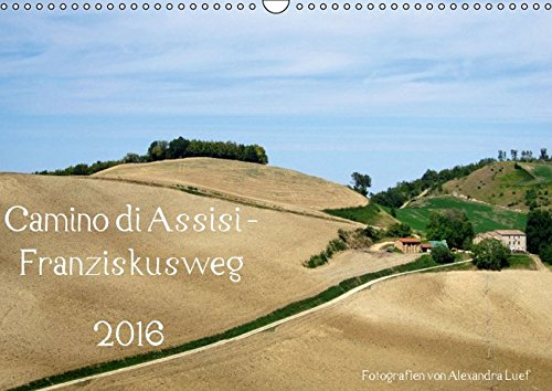 9783664537723: Camino di Assisi - FranziskuswegAT-Version - Wandkalender 2016