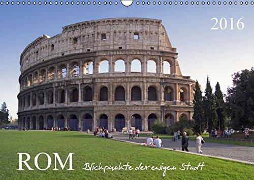 9783664542833: Rom, Blickpunkte der ewigen Stadt.AT-Version (Wandkalender 2016 DIN A3 quer): Die