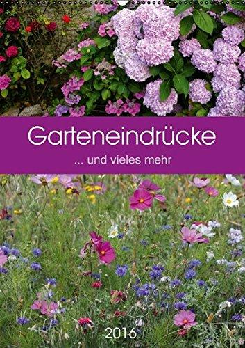 9783664553976: Garteneindrücke (Wandkalender 2016 DIN A2 hoch): ... und vieles mehr (Planer, 14 Seiten)