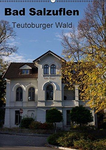 9783664558681: Bad Salzuflen - Teutoburger Wald (Wandkalender 2016 DIN A2 hoch): Bildkalender mit Motiven von Bad Salzuflen (Monatskalender, 14 Seiten)