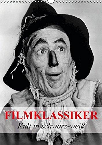 9783664561506: Filmklassiker - Kult in schwarz-weiß (Wandkalender 2016 DIN A3 hoch): Zeitgeist und Kult aus der Vergangenheit der Filmwelt (Monatskalender, 14 Seiten)