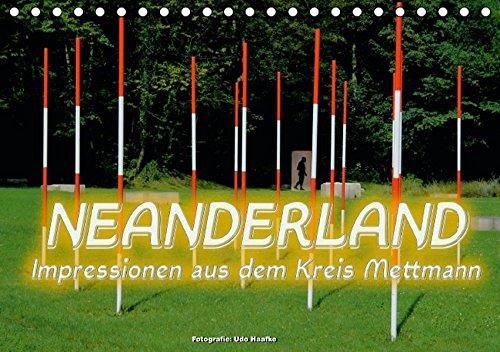 9783664563784: Neanderland 2016 - Impressionen aus dem Kreis Mettmann (Tischkalender 2016 DIN A5 quer): Zauberhafte Ansichten aus den 10 Städten des Kreises Mettmann (Monatskalender, 14 Seiten)