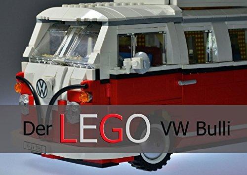 9783664577521: Der VW Bulli von LEGO (Posterbuch DIN A4 quer): Ein Kunstwerk aus bunten Steinen (Posterbuch, 14 Seiten)