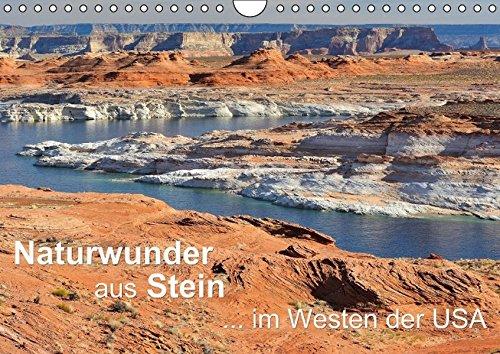 9783664580248: Naturwunder aus Stein im Westen der USA (Wandkalender 2016 DIN A4 quer): Überwältigende Felslandschaften in den einzigartigen Canyons und Nationalparks der USA (Monatskalender, 14 Seiten)