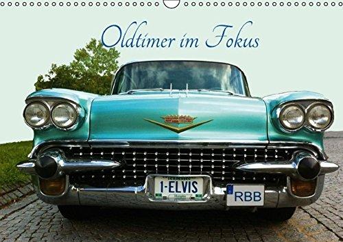 9783664581405: Oldtimer im Fokus (Wandkalender 2016 DIN A3 quer): Automobile Träume vor der Kamera (Monatskalender, 14 Seiten)