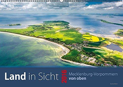 9783664582891: Land in Sicht, Mecklenburg-Vorpommern von oben (Wandkalender 2016 DIN A2 quer)