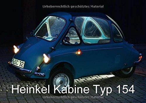 9783664589241: Heinkel Kabine Typ 154 (Posterbuch DIN A2 quer): Klein - fein und flott (Posterbuch, 14 Seiten )