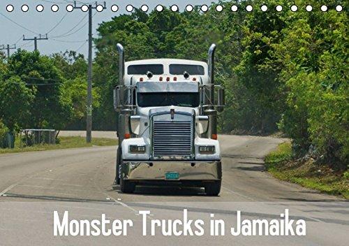 9783664589289: Monster Trucks in Jamaika (Tischkalender 2016 DIN A5 quer): Die Straßen von Jamaika und die großen Trucks. (Monatskalender, 14 Seiten)