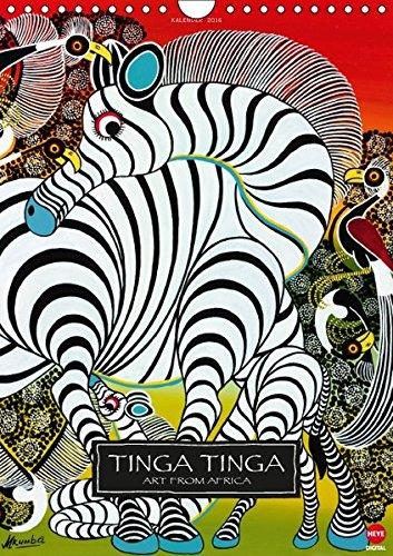 9783664593866: Tinga Tinga (Wandkalender 2016 DIN A4 hoch): Afrikanische K�nstler im Poster-Format (Monatskalender, 14 Seiten) (Calvendo Kunst)