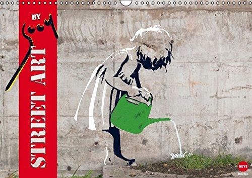 9783664594658: Street Art by sooq (Wandkalender 2016 DIN A3 quer): Überraschendes Graffiti auf 12 Wänden (Monatskalender, 14 Seiten) (Calvendo Kunst)
