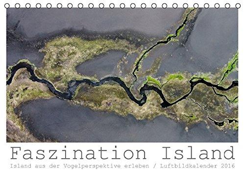 9783664597567: Faszination Island - Island aus der Vogelperspektive erleben (Tischkalender 2016 DIN A5 quer): Erleben Sie Island aus der Vogelperspektive (Monatskalender, 14 Seiten)