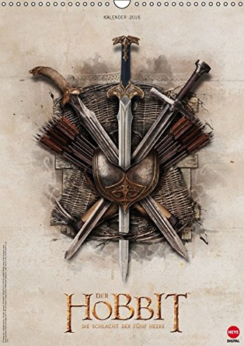 9783664603053: Der Hobbit: Die Schlacht der Fünf Heere (Wandkalender 2016 DIN A3 hoch): Ein Muss für alle Mittelerde-Fans! (Monatskalender, 14 Seiten) (Calvendo Kunst)