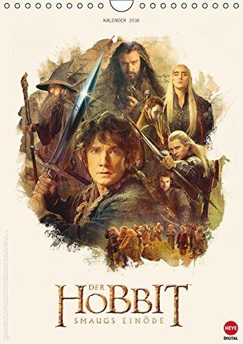 9783664605514: Der Hobbit - Smaugs Einöde (Wandkalender 2016 DIN A4 hoch): Ein Muss für alle Mittelerde-Fans! (Monatskalender, 14 Seiten) (Calvendo Spaß)
