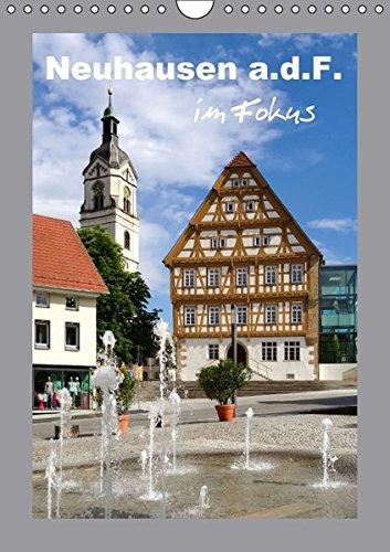 9783664610457: Neuhausen a.d.F. im Fokus (Wandkalender 2016 DIN A4 hoch): Ein fotografischer Rundgang (Monatskalender, 14 Seiten)