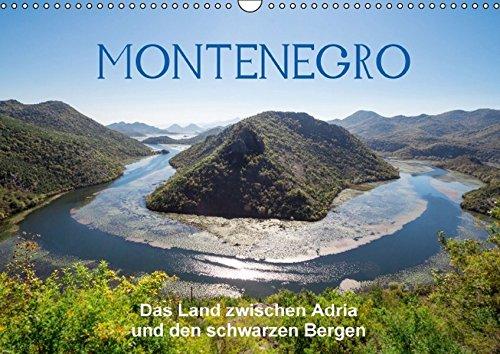 9783664630332: Montenegro - das Land zwischen Adria und den schwarzen Bergen (Wandkalender immerwährend DIN A3 quer): Ein kleiner Staat mit großartigen Landschaften ... Überraschungen. (Monatskalender, 14 Seiten)