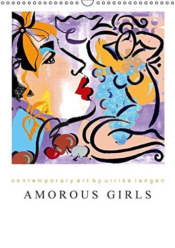 9783664632312: AMOROUS GIRLS (Wandkalender 2016 DIN A3 hoch)