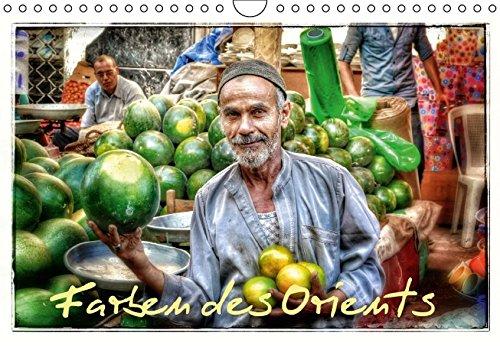9783664643639: Farben des Orients (Wandkalender 2016 DIN A4 quer)