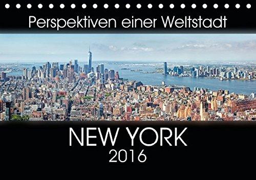 9783664651498: Perspektiven einer Weltstadt - New York (Tischkalender 2016 DIN A5 quer)