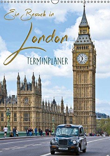 9783664662746: Ein Besuch in London / Terminplaner (Wandkalender 2016 DIN A3 hoch): Sehenswürdigkeiten der englischen Metropole (Planer, 14 Seiten)