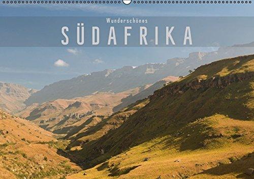 9783664698424: Wunderschönes Südafrika (Wandkalender 2016 DIN A2 quer): Stimmungsvolle Aufnahmen aus dem wunderschönen Südafrika (Monatskalender, 14 Seiten)