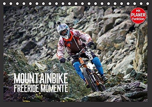 9783664705597: Mountainbike Freeride Momente (Tischkalender 2016 DIN A5 quer): Mountainbike Freeride Momente durch zerklüftete Felsen und schmale Wege aus Schotter und Stein. (Geburtstagskalender, 14 Seiten)