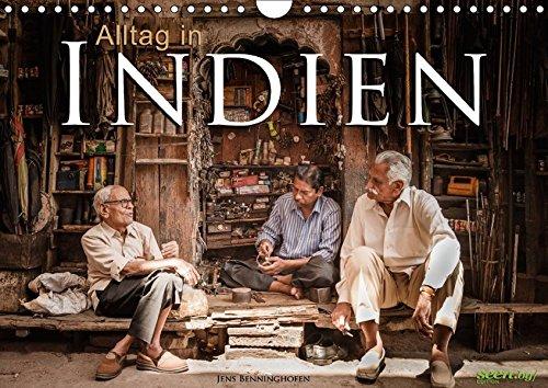 9783664788842: Alltag in Indien (Wandkalender 2017 DIN A4 quer): 12 Alltagsszenen aus Indien (Monatskalender, 14 Seiten )