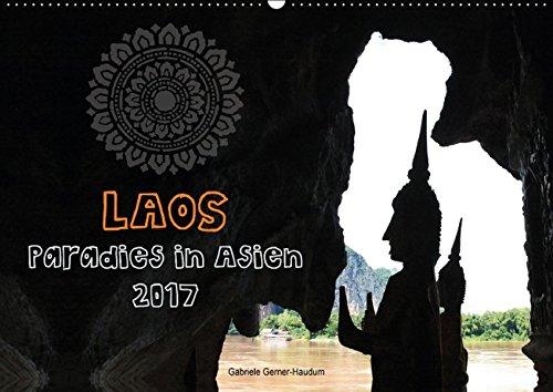 9783664792696: Laos - Paradies in Asien (Wandkalender 2017 DIN A2 quer): Lassen Sie Sich verzaubern von Laos: traumhafte Landschaften, farbenfrohe Märkte und ... an jeder Ecke! (Monatskalender, 14 Seiten)