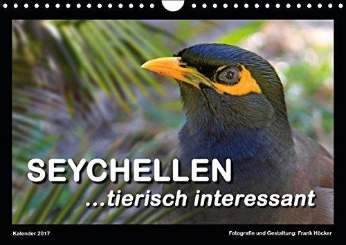 9783664793310: Seychellen - tierisch interessant (Wandkalender 2017 DIN A4 quer): Tiere im Paradies (Monatskalender, 14 Seiten)