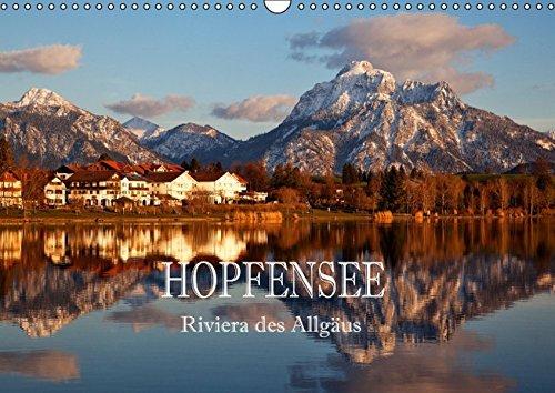 9783664800483: Hopfensee - Riviera des Allgäus (Wandkalender 2017 DIN A3 quer): Fotografische Impressionen vom Hopfensee im Ostallgäu (Monatskalender, 14 Seiten)