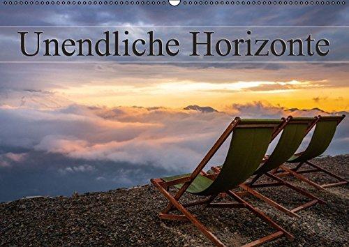 9783664802555: Unendliche Horizonte (Wandkalender 2017 DIN A2 quer): Grenzlinie zwischen Himmel und Erde. Der Horizont. Er erscheint endlos und nicht selten folgen ... mit den Augen. (Monatskalender, 14 Seiten)