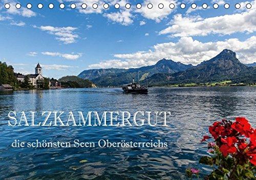 9783664804726: Salzkammergut - Die schönsten Seen Oberösterreichs (Tischkalender 2017 DIN A5 quer): Der Kalender zeigt die schönsten Fotomotive der bekanntesten Seen im Salzkammergut. (Monatskalender, 14 Seiten )