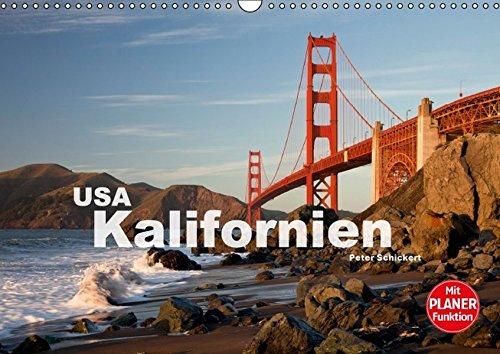 9783664805143: Kalifornien USA (Wandkalender 2017 DIN A3 quer): 13 traumhafte Reisefotos aus dem Westen der Vereinigten Staaten. (Geburtstagskalender, 14 Seiten)