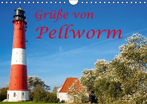 9783664814763: Grüße von Pellworm (Wandkalender 2017 DIN A4 quer): Impressionen von der nordfriesischen Insel Pellworm (Monatskalender, 14 Seiten)